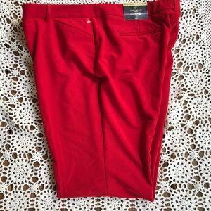 Worthington modern fit petite women's-NWTs-red-18p